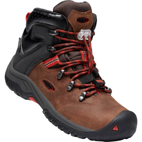Keen Torino II Mid WP Shoes Youth tortoise shell/firey red